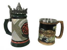 Подарочный набор Кружка Game Of Thrones House Targaryen Fire And Blood Игра Престолов и. ..