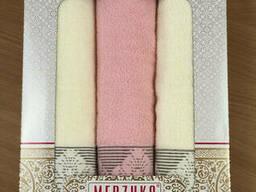 Подарочный набор полотенец для мамы, 3 шт.