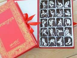 """Подарочный набор шоколадных конфет """"Камасутра в шоколаде"""""""