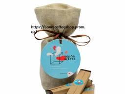 """Подарочный набор шоколадок """"bag of happinnes"""" (торба щастя)"""