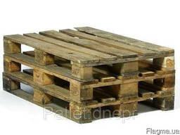 Поддон деревянный 800х1200 б/у 1 сорт (облегчённый)