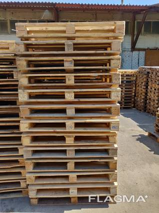 Поддон деревянный б/у 1200x800 , 1200x1000 (после ремонта) .