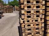 Поддон деревянный б/у 1200x800 , 1200x1000 (после ремонта) . - фото 2
