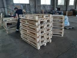 Поддон деревянный, европоддон