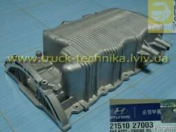Поддон масляного картера двигателя Hyundai Kia 2151027001