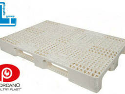 Поддон пластиковый 1200х800х160 мм, паллета пластиковая