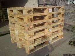 Поддоны б/у и новые деревянные 1200х800, 1200х1000