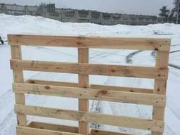 Поддоны деревянные 1100*800 и 1100*750