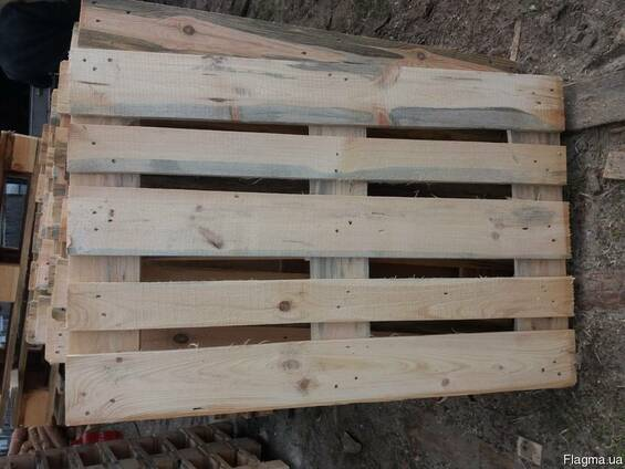 Поддоны деревянные 1200х800х145