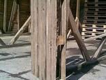 Поддоны деревянные облегченные (б\у) 3 сорт - фото 1
