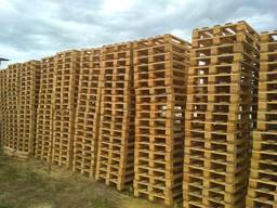Продаем поддоны деревянные б/у в Киеве