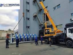 Подъем/перемещение/монтаж/демонтаж промышленного оборудования