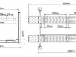 Подъемник четырехстоечный с гладкими платформами Реак 414 н - фото 2