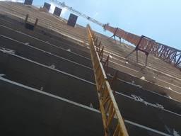 Подъемник строительный мачтовый цельносварной (Украина) - фото 4