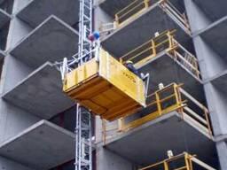 Подъемник строительный мачтовый (консольный)