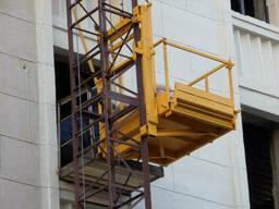 Подъемник для транспортировки строительных материалов