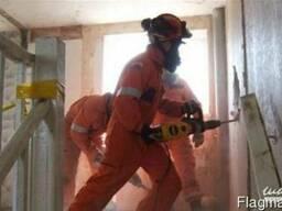 Подготовительные и черновые работы на строительной площадке