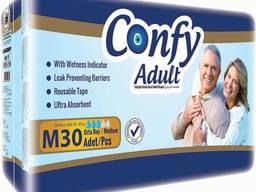 Подгузники Confy для взрослых