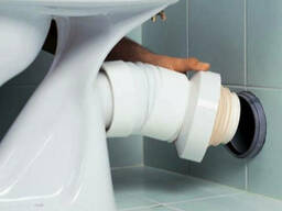 Подключение унитаза к канализации