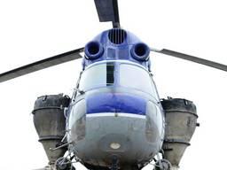 Подкормка озимых культур с вертолета самолета