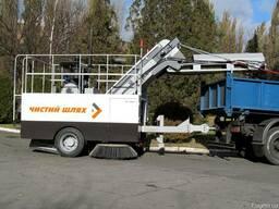 Подметально-уборочная машина КВБЗ-4002 «Чистый шлях»