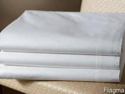 Пододеяльник белый ткань бязь, гост (полуторный)