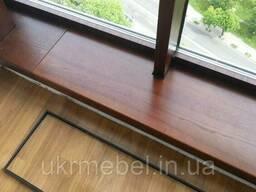 Подоконники деревянные под заказ