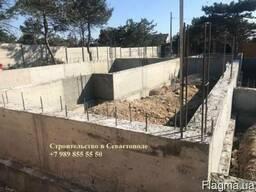Подпорные стены, фундаменты и любые бетонные работы