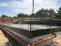 Строительство фундамента для дома в Севастополе
