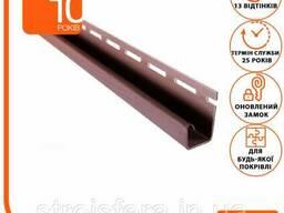 Подшива, Софит - Планка ASKO NEO J коричневая, 3. 8 м