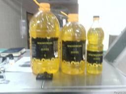 Подсолнечное масло 1,3 и 5 л.