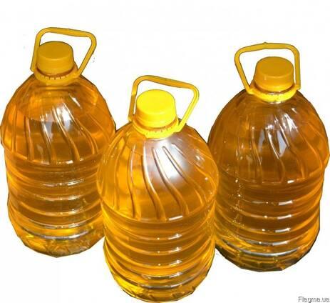Подсолнечное нерафенированное масло