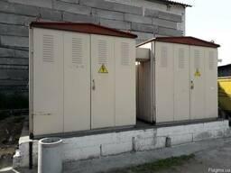 Подстанция трансформаторная комплектная 2КТПГС 630-10/0,4