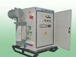 Подстанция трансформаторная комплектная для прогрева бетона и термообработки грунта КТПТО