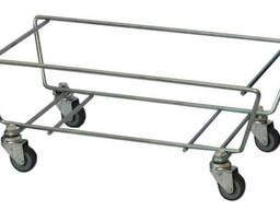Подставка для корзинок на колесах для 22 и 28 литров корзин