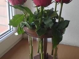 "Подставка ""Олимп"" роза в колбе в донецке"