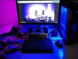 Подсветка стола, LED освещение рабочей зоны, LED подсветка