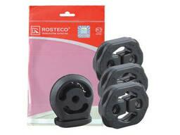 Подушка подвески глушителя 2170, 2171, 2172 комплект (3+1 шт) Rosteco (резинка)