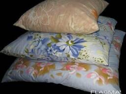 Подушка пух-перо размер 50 на 50, другие подушки