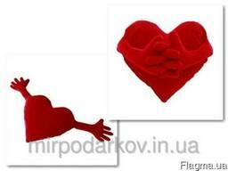 Подушка сердце - обнимашка - сделано в Украине - фото 1