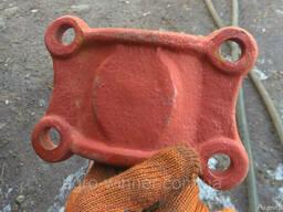 Подушка стремянки нижняя (подкладка) КТУ, 2ПТС-4