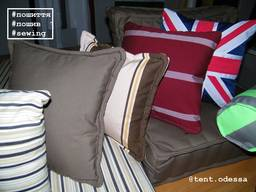 Подушки диванные под заказ