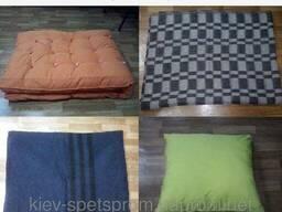 Подушки, одеяла, матрасы