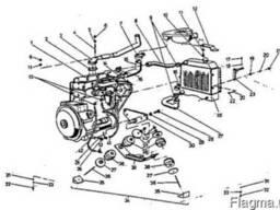 Подвеска двигателя на погрузчик ДВ-1621, ДВ-1661 Балканкар.