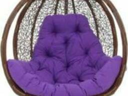 Подвесное кресло Teriko коричневое