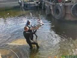Подводная алмазная резка Одесса, Илличевск, Николаев, Херсон