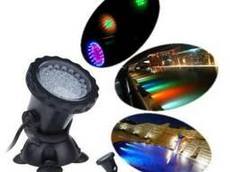 Подводный прожектор мультицветной RGB 36 светодиодов LED