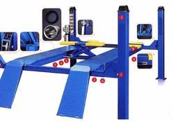 Подъёмник 4-х стоечный Evrolift 3D для развал схождения