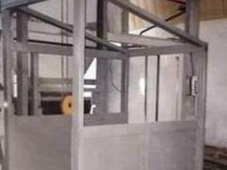 Складской электрический консольный подъёмник г/п 500 кг. .. .