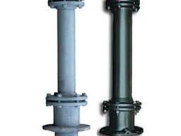 Подземный пожарный гидрант стальной ГОСТ 8220-86 Н-0, 5м